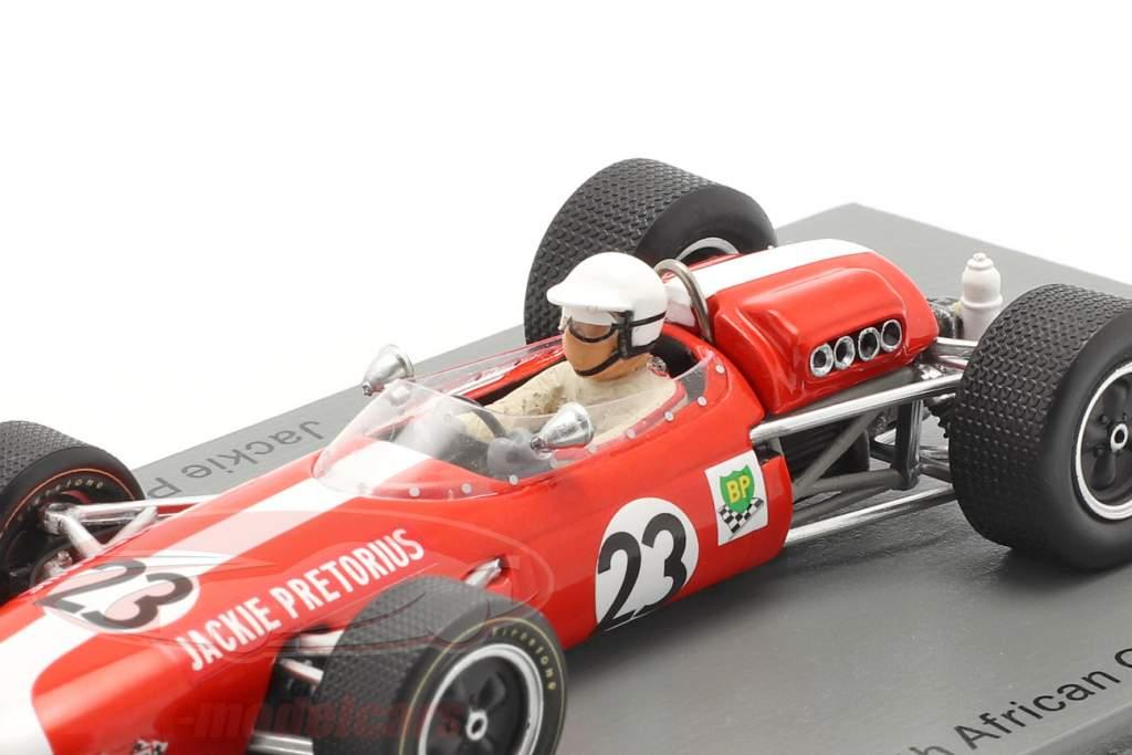 Jackie Pretorius Brabham BT11 #23 South Africa GP formula 1 1968 1:43 Spark