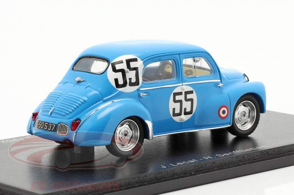 Renault 4CV 1063 #55 24h LeMans 1952 Lecat, Senfftleben 1:43 Spark