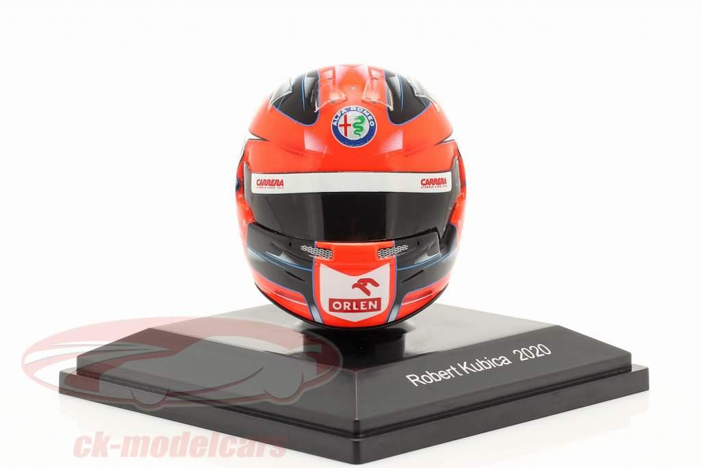 Robert Kubica Alfa Romeo Racing Orlen fórmula 1 2020 casco 1:8 Spark