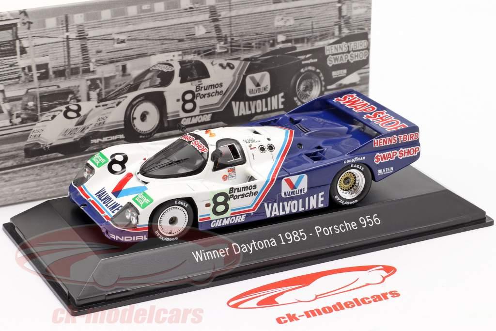Porsche 956 #8 Gagnant 24h Daytona 1985 Henn's Swap Shop Racing 1:43 Spark
