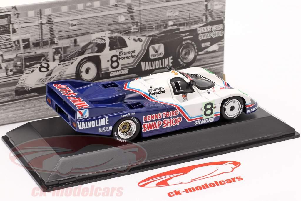 Porsche 956 #8 Winnaar 24h Daytona 1985 Henn's Swap Shop Racing 1:43 Spark