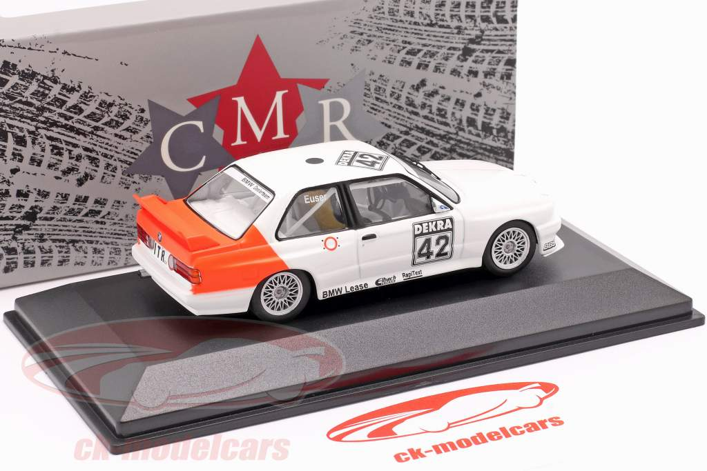 BMW M3 (E30) #42 DTM 1991 Cor Euser 1:43 CMR / 2. choice
