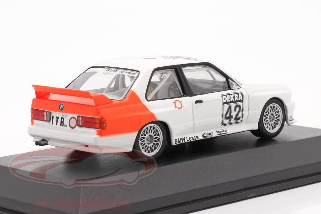 BMW M3 (E30) #42 DTM 1991 Cor Euser 1:43 CMR / 2 escolha