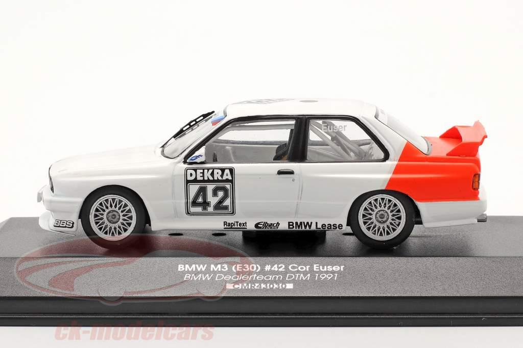 BMW M3 (E30) #42 DTM 1991 Cor Euser 1:43 CMR / 2. elección
