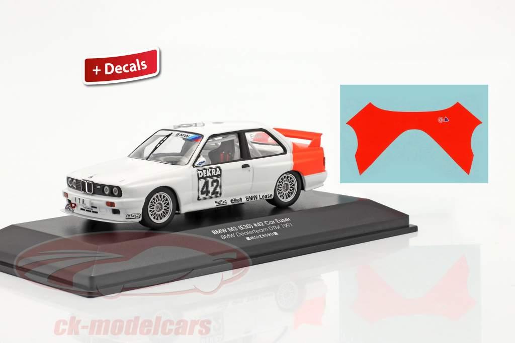 BMW M3 (E30) #42 DTM 1991 Cor Euser 1:43 CMR / 2. valg