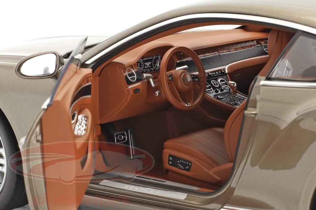 Bentley Continental GT Byggeår 2018 mørk kashmir metallisk 1:18 Norev
