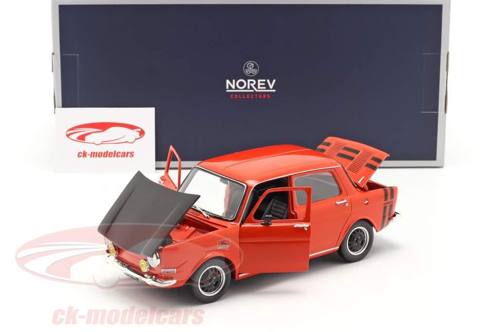Simca 1000 Rallye 2 Baujahr 1971 sarde rot 1:18 Norev