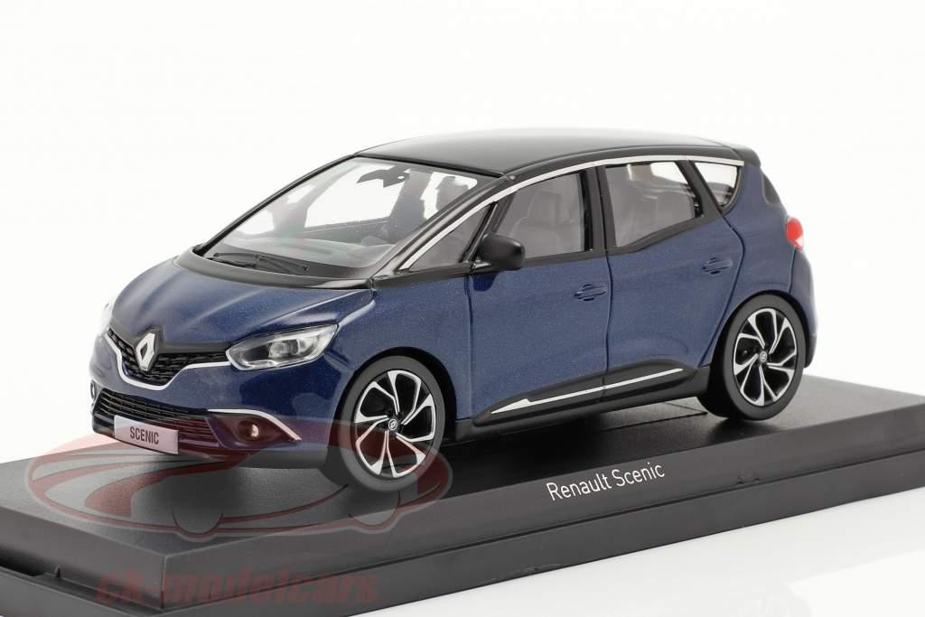 Renault Scenic year 2016 cosmos blue metallic / black 1:43 Norev