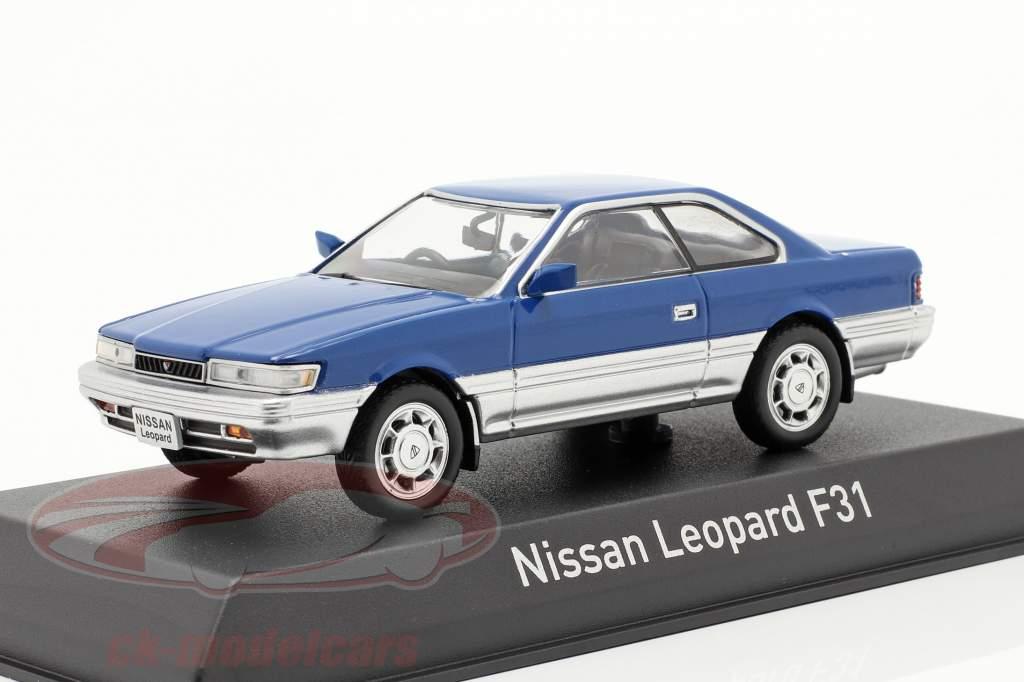 Nissan Leopard F31 Baujahr 1986 blau / silber metallic 1:43 Norev