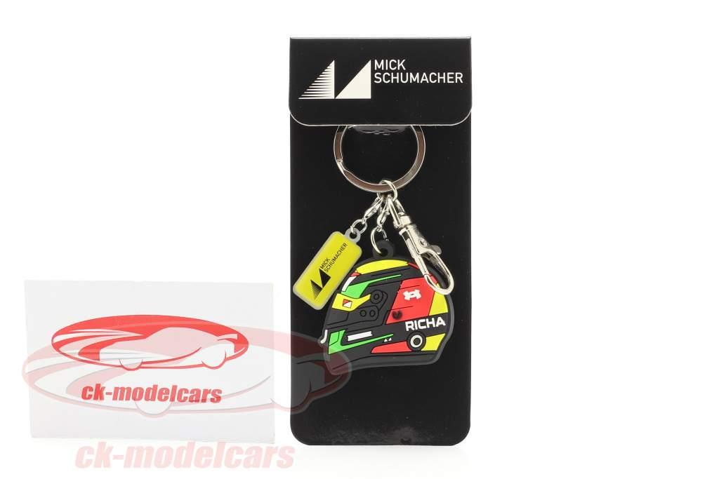 Mick Schumacher Porte-clés casque formule 2 2019