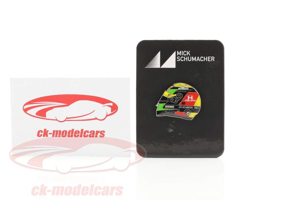 Mick Schumacher Pin capacete Fórmula 2 2019