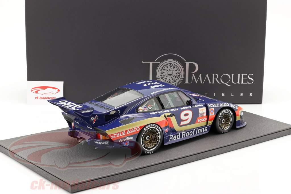 Porsche 935 K3/80 #9 ganador 24h Daytona 1981 Garretson Racing 1:12 TopMarques