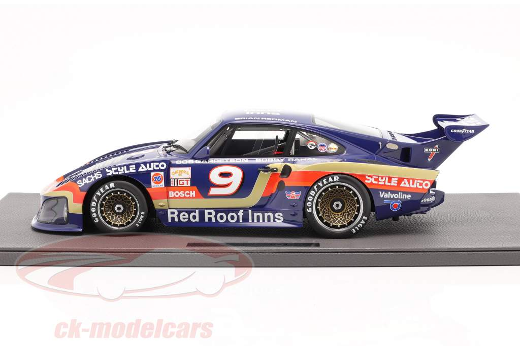 Porsche 935 K3/80 #9 Sieger 24h Daytona 1981 Garretson Racing 1:12 TopMarques