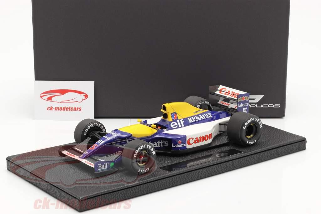 Nigel Mansell Williams FW14B #5 Champion du monde formule 1 1992 1:18 GP Replicas