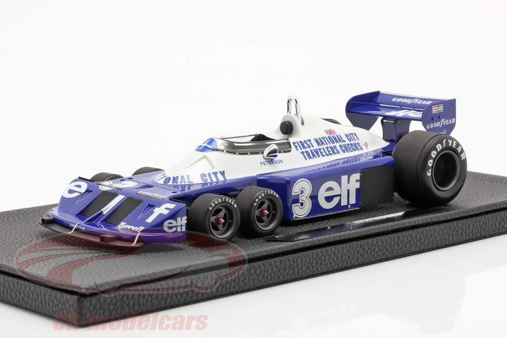 Ronnie Peterson Tyrrell P34 sei ruote #3 formula 1 1977 1:18 GP Replicas