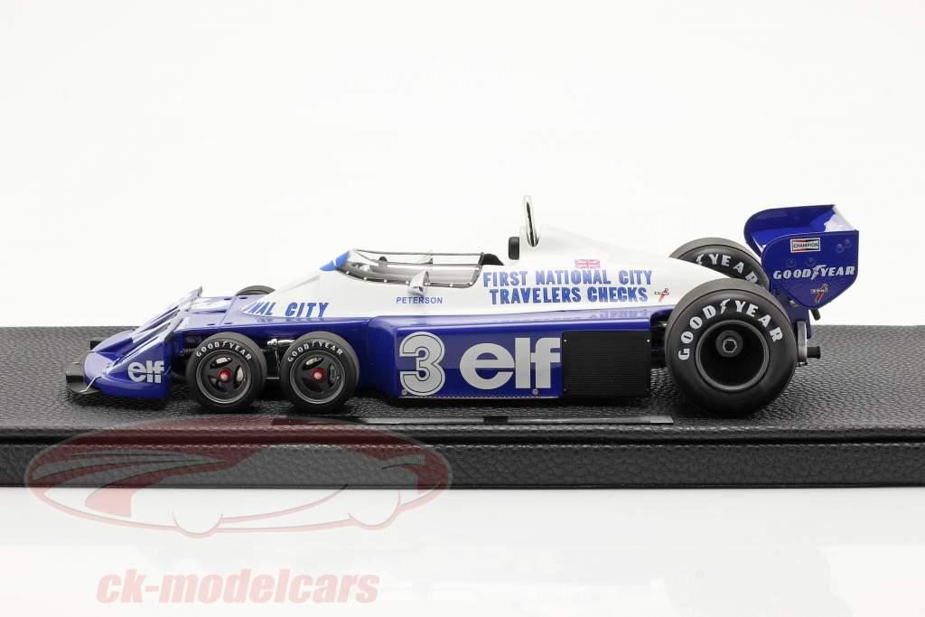 Ronnie Peterson Tyrrell P34 seis rodas #3 Fórmula 1 1977 1:18 GP Replicas
