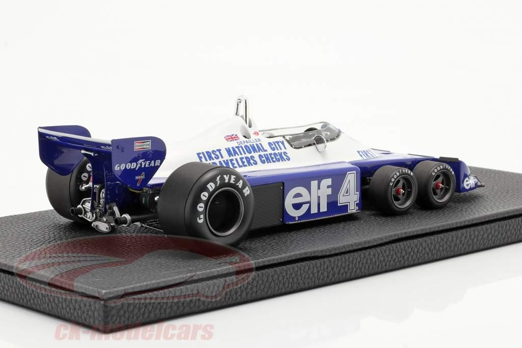 Patrick Depailler Tyrrell P34 six wheels #4 formel 1 1977 1:18 GP Replicas