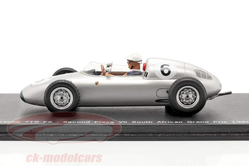 Joakim Bonnier Porsche 718 F2 #6 2. Ruimte GP Zuid-Afrika 1960 1:43 Spark