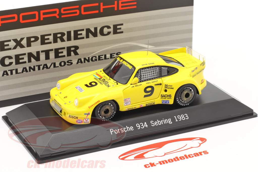 Porsche 934 #9 Gagnant 12h Sebring 1983 Baker,Mullen,Nierop 1:43 Spark