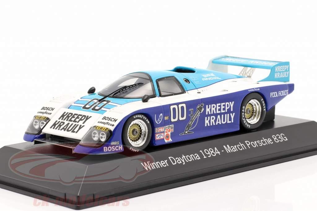 Marts Porsche 83g #00 Vinder 24 Daytona 1984 Kreepy Krauly Racing 1:43 Spark