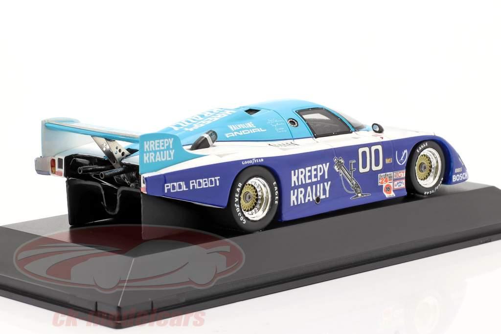 Marzo Porsche 83G #00 Winner 24 di Daytona 1984 Kreepy Krauly corsa 1:43 Spark