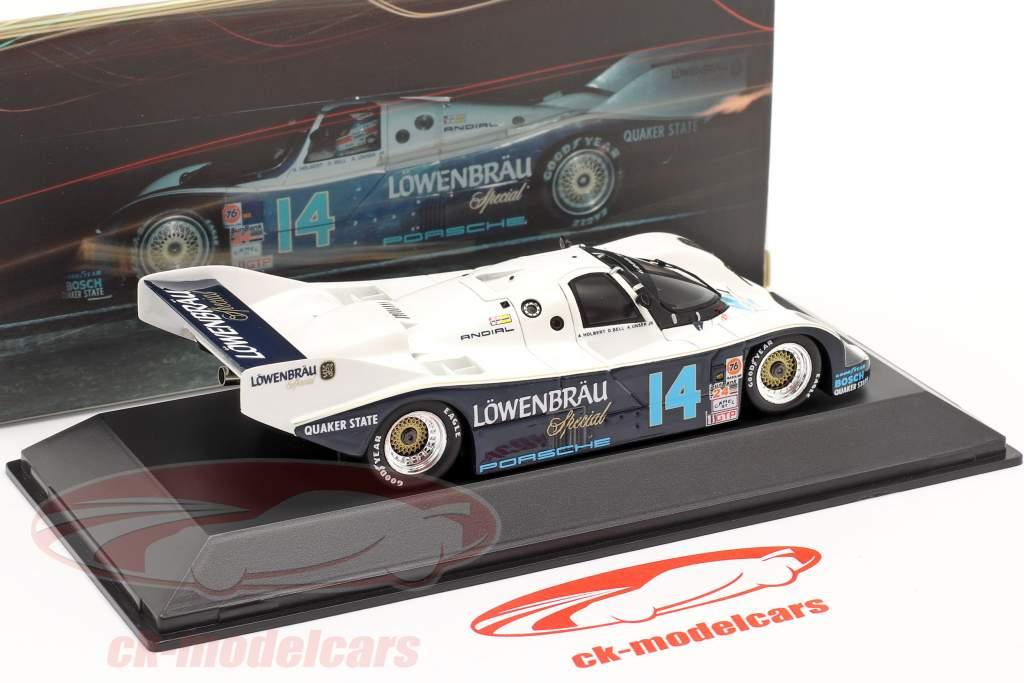 Porsche 962 #14 Ganador 24 Daytona 1986 Löwenbräu Holbert Racing Spark una y cuarenta y tres