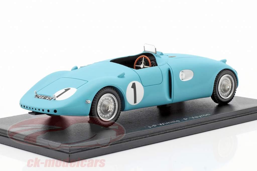 Bugatti Type 57C #1 Vinder 24h LeMans 1939 Wimille / Veyron 1:43 Spark