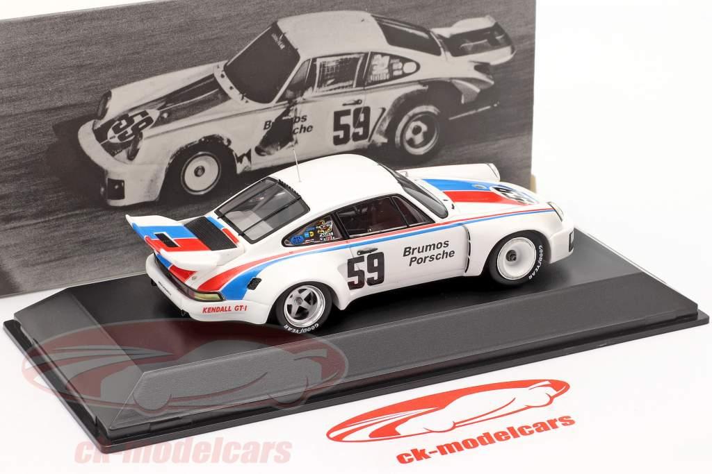 Porsche 911 Carrera RSR #59 Ganador 24h Daytona 1975 Brumos Porsche 1:43 Spark