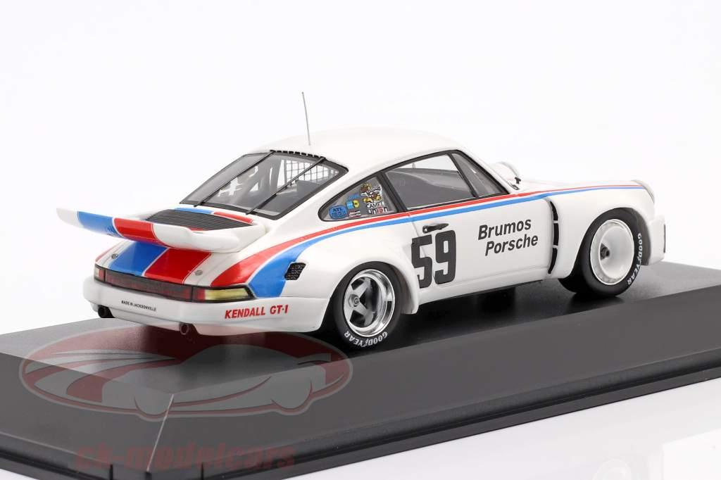 Porsche 911 Carrera RSR #59 Vincitore 24h Daytona 1975 Brumos Porsche 1:43 Spark