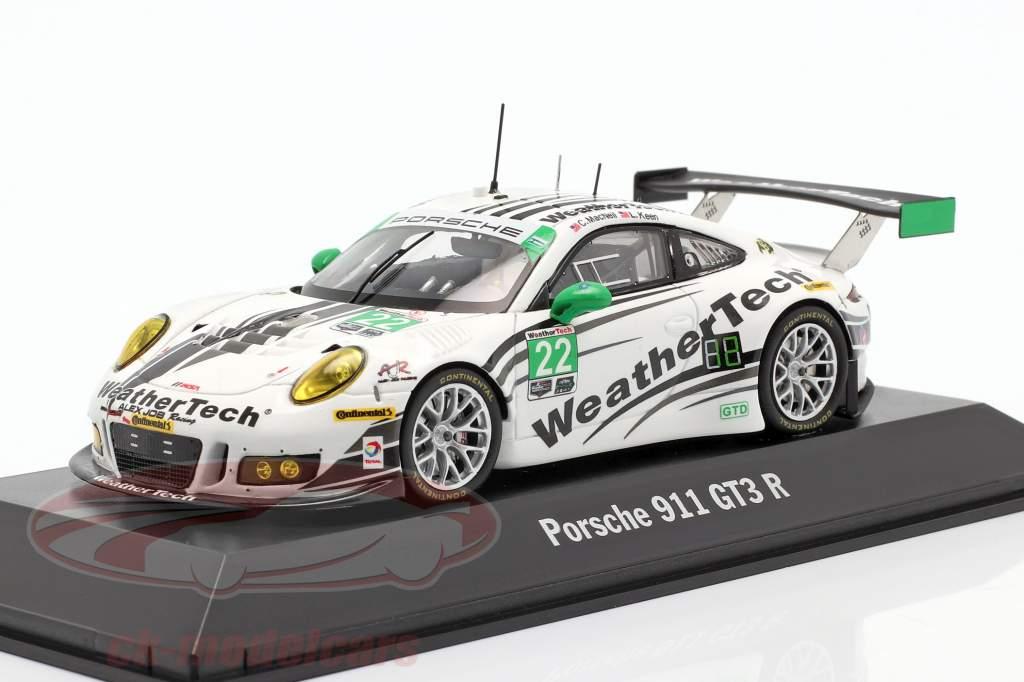 Porsche 911 (991) GT3 R #22 IMSA Serie 2016 MacNeil, Keen 1:43 Spark
