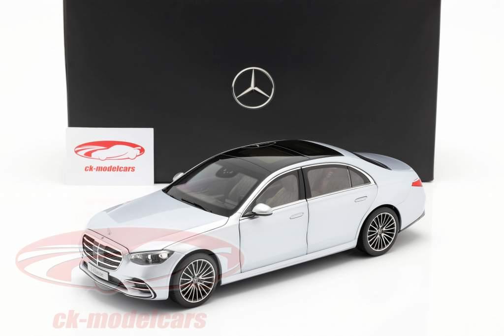Mercedes-Benz S-klasse (V223) Bouwjaar 2020 hightech zilver 1:18 Norev