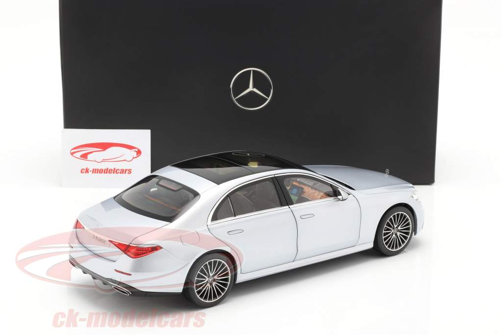 Mercedes-Benz Classe S. (V223) Anno di costruzione 2020 argento high-tech 1:18 Norev