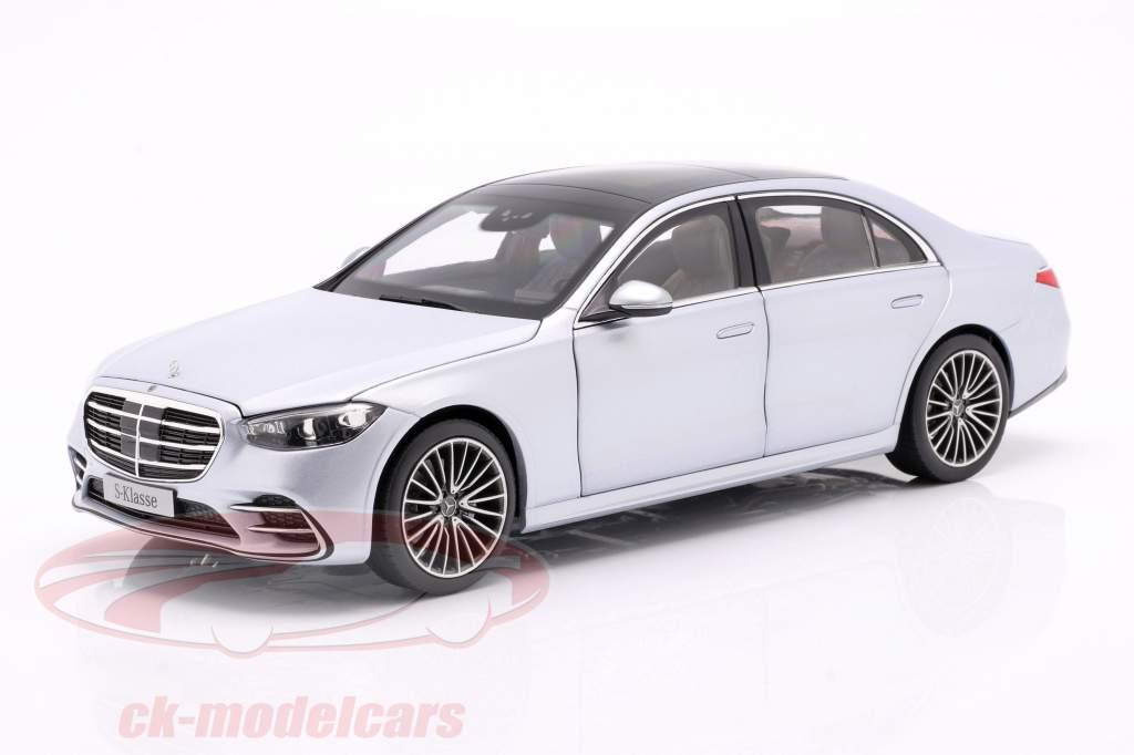 Mercedes-Benz Classe S (V223) Année de construction 2020 argent high-tech 1:18 Norev