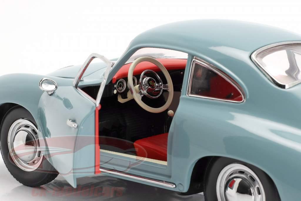 Porsche 356A 1500 GS Carrera GT Opførselsår 1957 lyseblå 1:18 SunStar