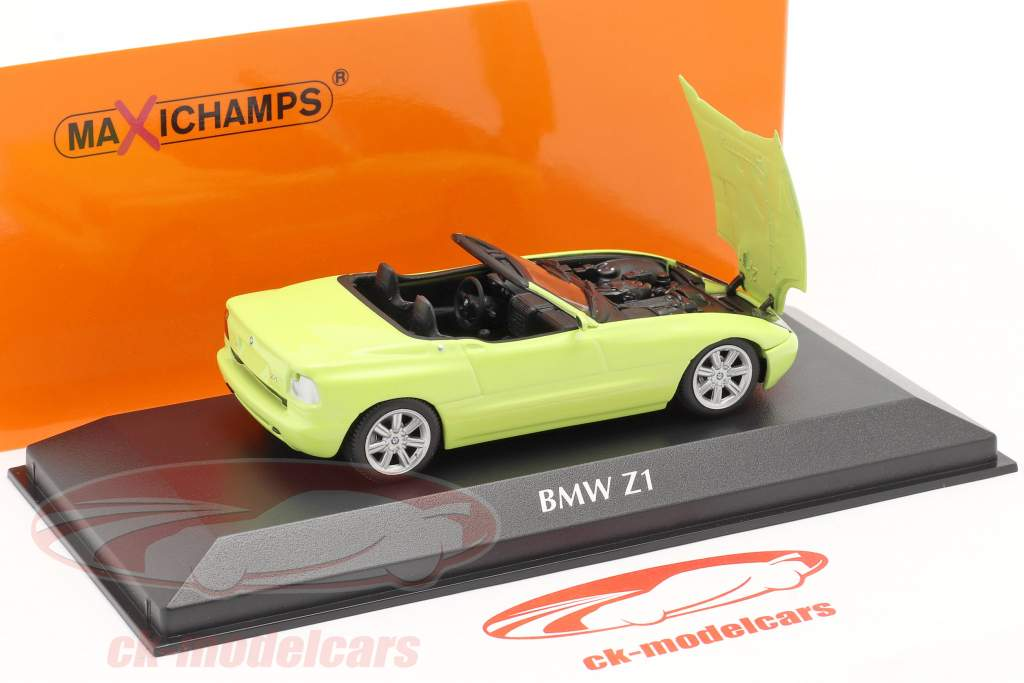 BMW Z1 (E30) año de construcción 1991 luz amarilla 1:43 Minichamps