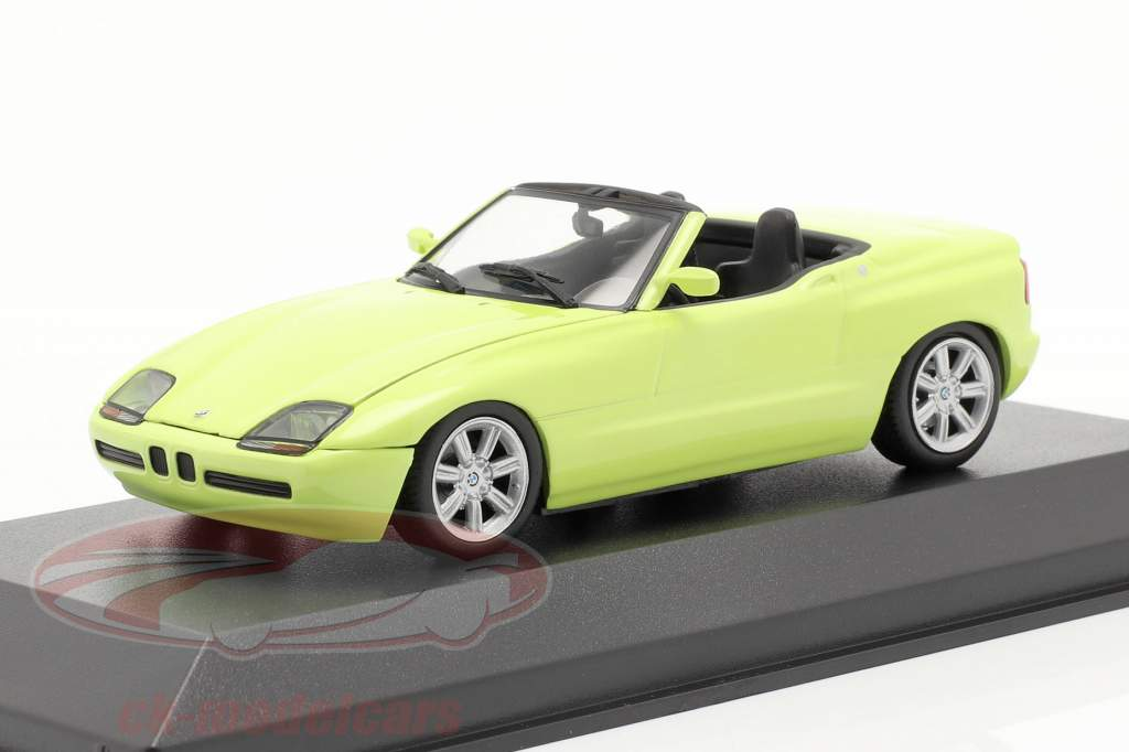 BMW Z1 (E30) année de construction 1991 jaune clair 1:43 Minichamps