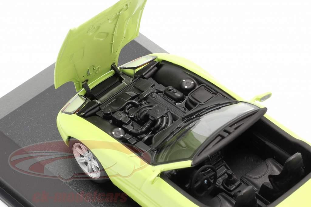 BMW Z1 (E30) anno di costruzione 1991 giallo chiaro 1:43 Minichamps