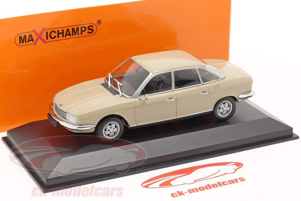 NSU Ro 80 Opførselsår 1972 sahara beige 1:43 Minichamps