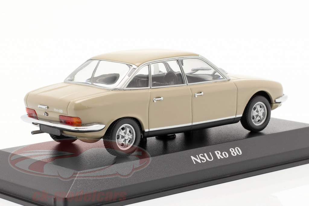 NSU Ro 80 ano de construção 1972 sahara bege 1:43 Minichamps