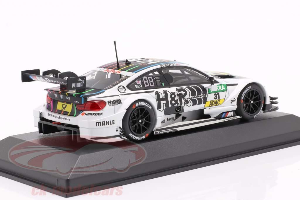 BMW M4 (F82) #31 DTM 2016 Blomqvist 1:43 Minichamps