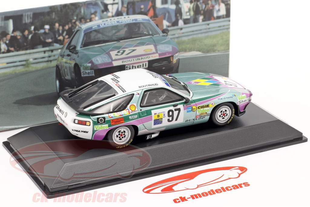 Porsche 928S #97 24h LeMans 1983 Boutinaud, Gonin, Le Page 1:43 Spark