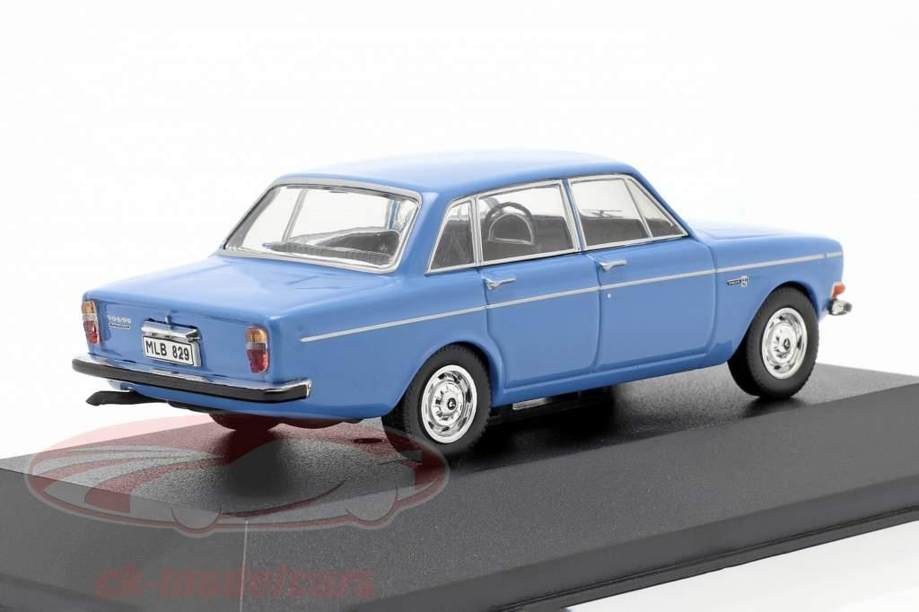Volvo 144S jaar 1967 blauw 1:43 Triple9