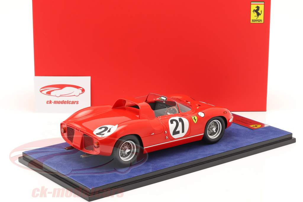 Ferrari 250P #21 Gagnant 24h LeMans 1963 Bandini, Scarfiotti 1:18 LookSmart