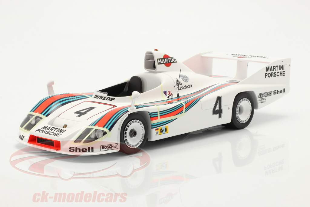 Porsche 936/77 #4 winnaar 24h LeMans 1977 Martini Racing 1:18 Spark