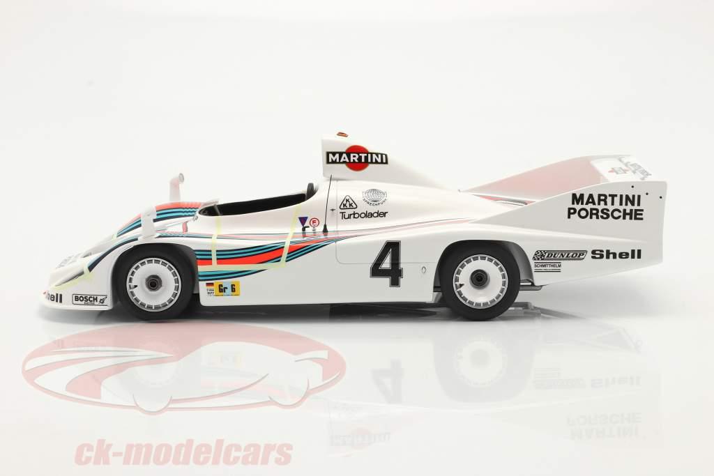 Porsche 936/77 #4 vencedora 24h LeMans 1977 Martini Racing 1:18 Spark