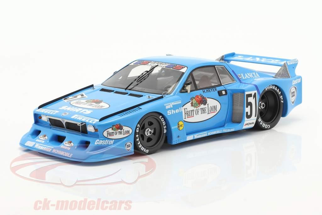 Lancia Beta Montecarlo Turbo #51 vincitore DRM Hockenheim 1980 Heyer 1:18 Spark