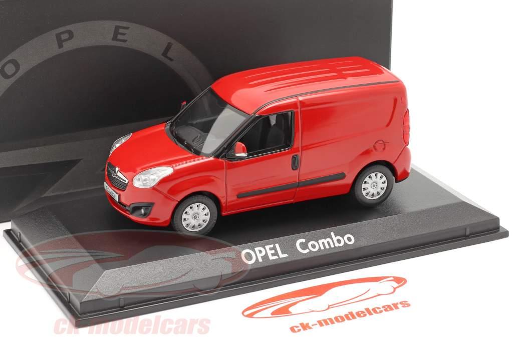 Opel Combo D Van Baujahr 2012 rød 1:43 Norev