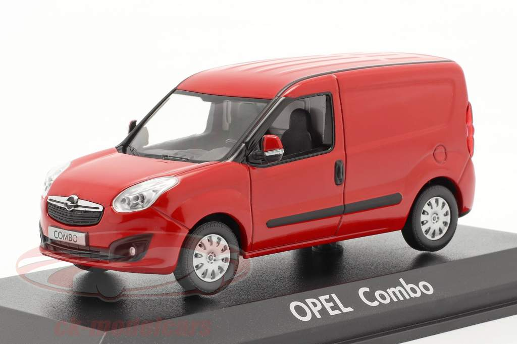 Opel Combo D Kastenwagen Baujahr 2012 rot 1:43 Norev