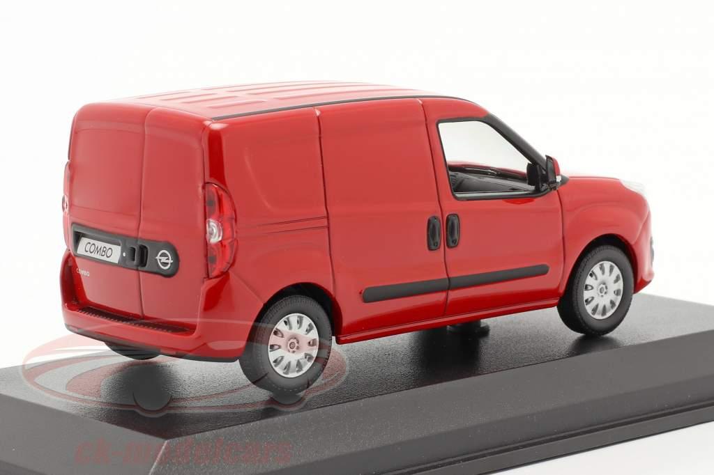 Opel Combo D camioneta Baujahr 2012 rojo 1:43 Norev