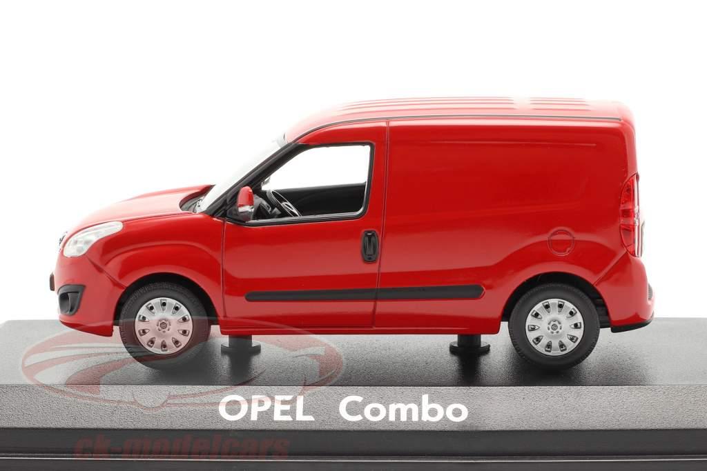 Opel Combo D Van Baujahr 2012 rouge 1:43 Norev